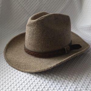 Ladies vintage western style hat size 7-7 1/8